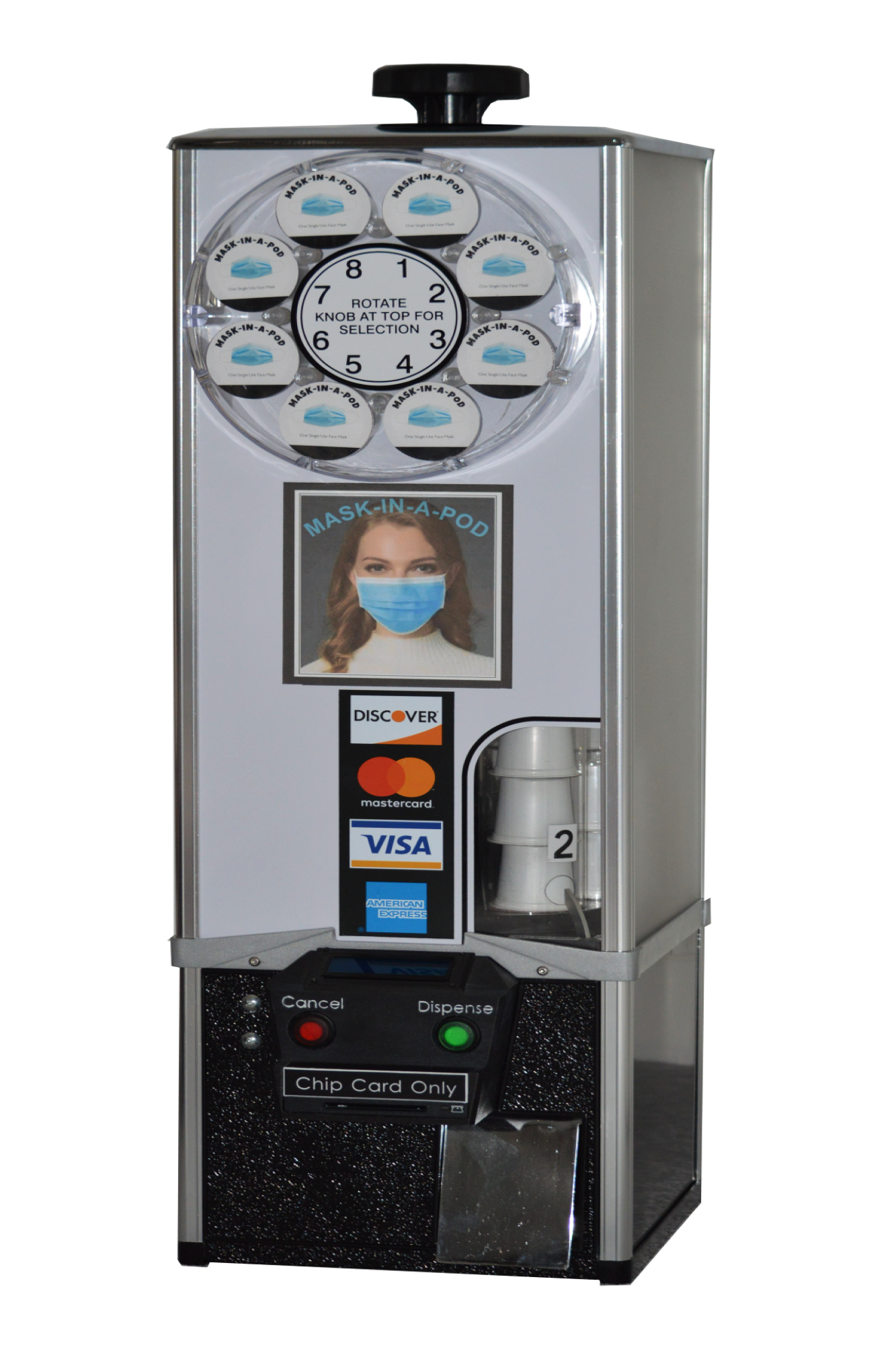 Koffee Karousel Face Mask Vending Machine (Equipped with ...